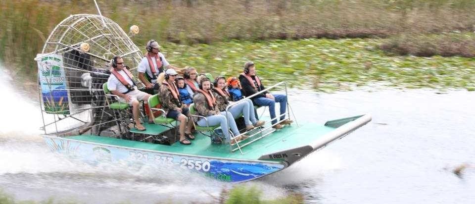 Airboat Rides With A Local Guided Tour Swamp Donkey